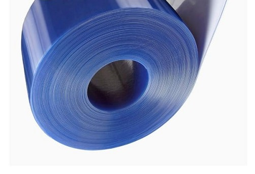 Clear PVC Strip Curtain Roll 200mm x 2mm For Cold Rooms Temperature