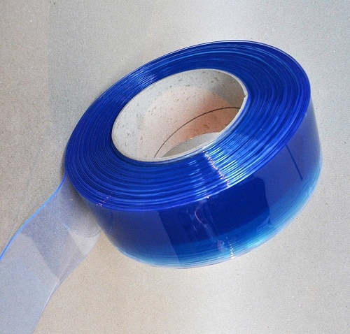 Clear Flexible PVC Door Strip Curtain 10m Roll Weather Resistant