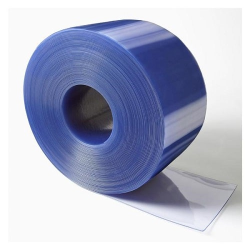 PVC Curtains Heavy Duty Flexible PVC Roll Low Temperature For Chillers