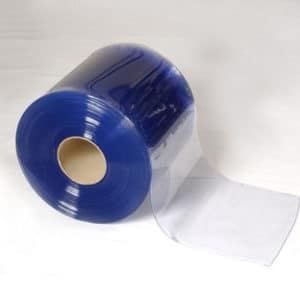 Clear 25m PVC Strip Curtain Roll For Food Contact Applications