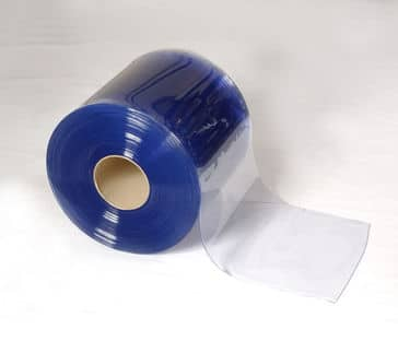 Temperature Control PVC Strip Curtain Roll 400mm x 4mm For Chillers