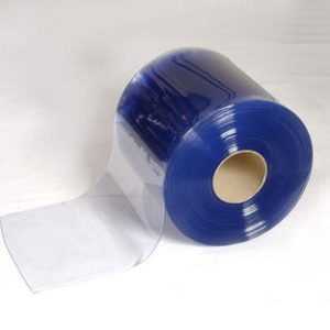 Clear PVC Door Strip 100mmx2mm Suitable To Stop Bugs