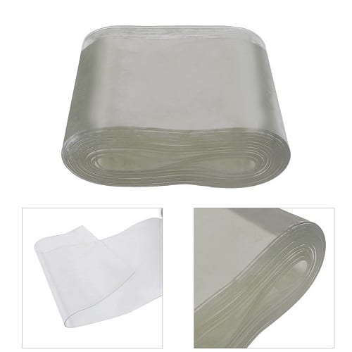 Transparent PVC Strip Curtain Roll For Home Application and Industrial Usage