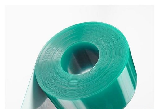 Green Anti Static PVC Strip Curtain Roll 200mm x 2mm A 50m Roll of our master against static PVC strip drape is extraordinarily planned utilizing an enemy of static added substance making the shade appropriate for use in server situations and server farms just as in electronic assembling plants and workshops. It is perfect for use in inner or outer person on foot entryways that might be liable to high volumes of traffic. It will go about as an obstruction against commotion and air contamination and will likewise control surrounding temperatures between territories. • Energy sparing strip shade • Effective temperature control • Excellent hindrance against clamor and air contamination • Anti-Static Properties • Pedestrian or light vehicle use • Suitable for temperatures from - 55c - +38c • Purchase our treated steel hanging framework to create your own drapes
