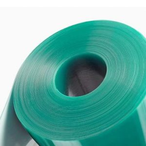 50m Anti Static PVC Strip Curtain Roll 300mmx3mm For Cold Area