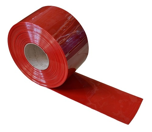 Flexible PVC Strip Curtain 50m Roll Suitable For Welding Areas